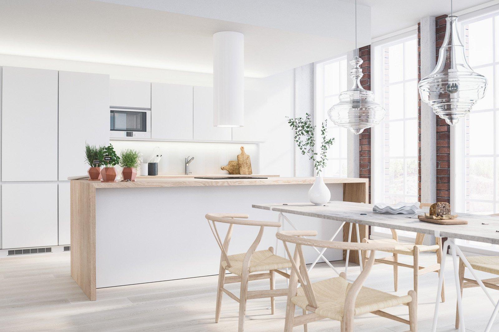 Loft keittiö