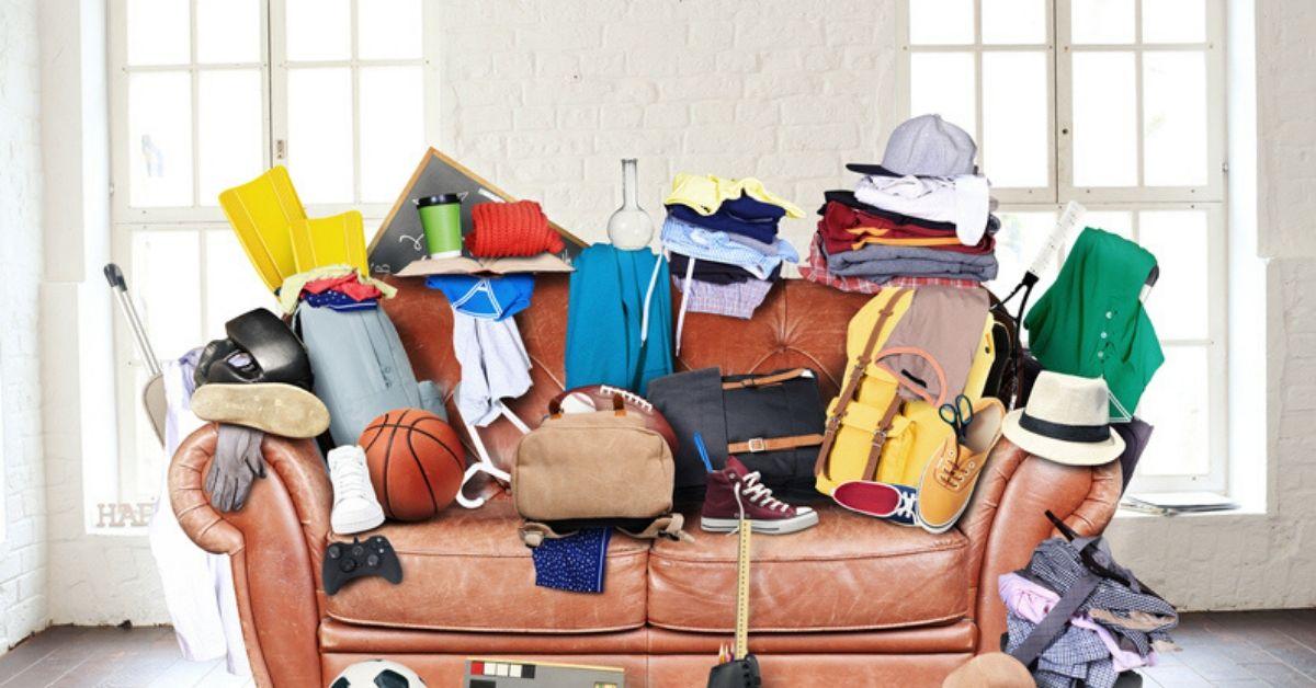 100 tavaran haaste - Näin vähennät kodista ylimääräistä tavaraa