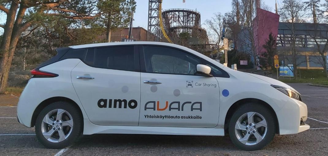 Mutkatonta autoilua Avaran yhteiskäyttöautolla