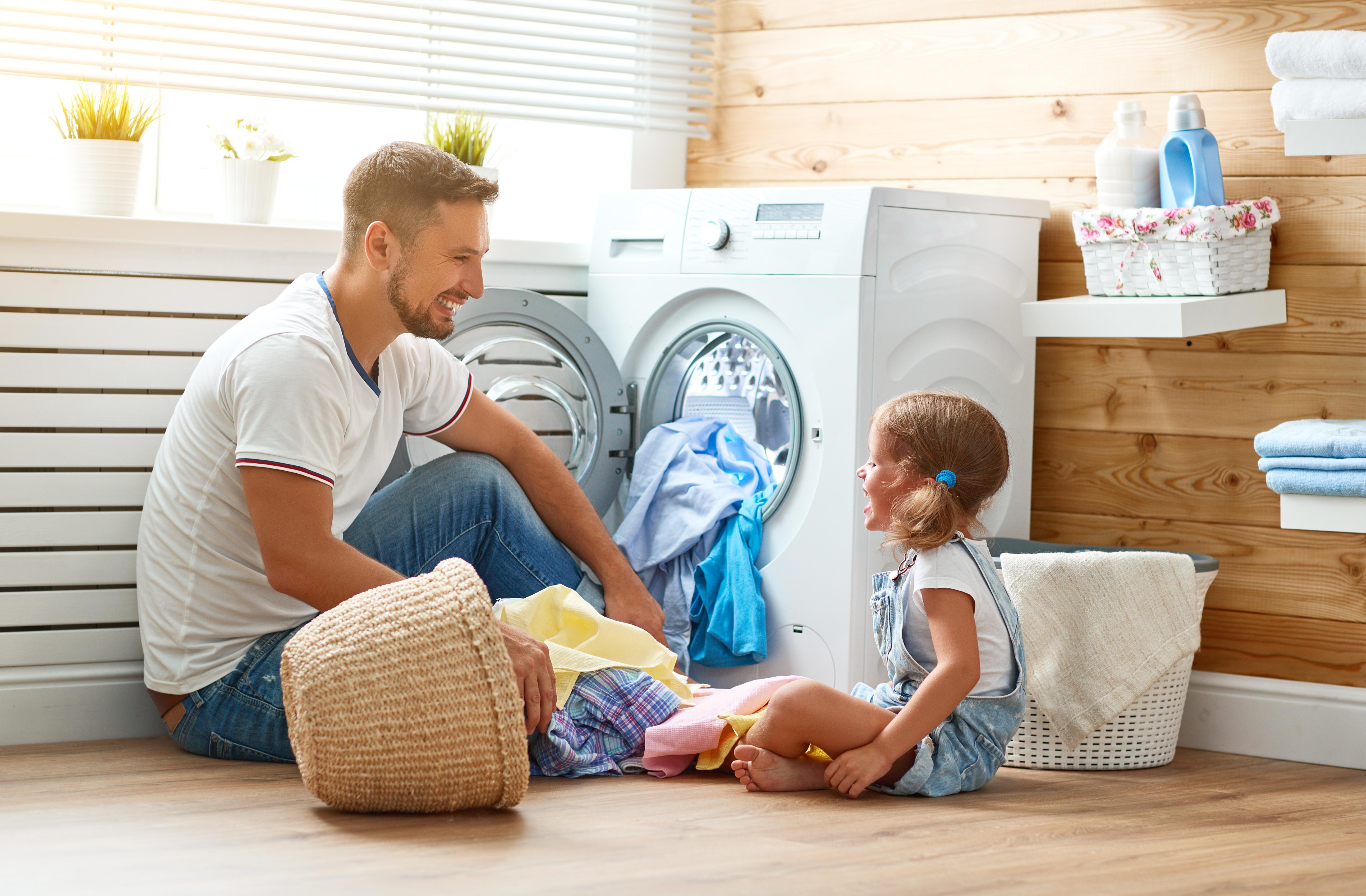 Tehokas pyykinpesunurkkaus
