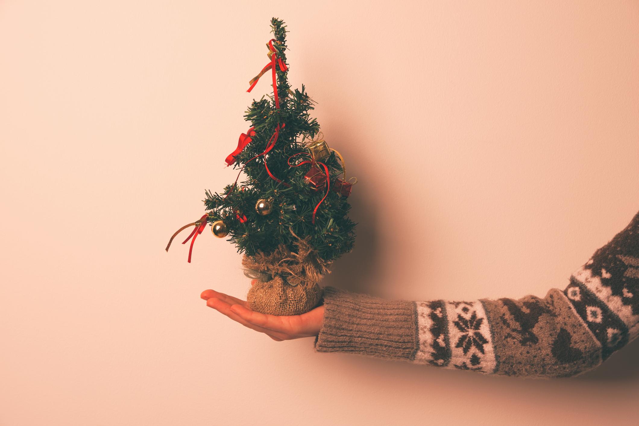 Pienen kodin joulukoristeet