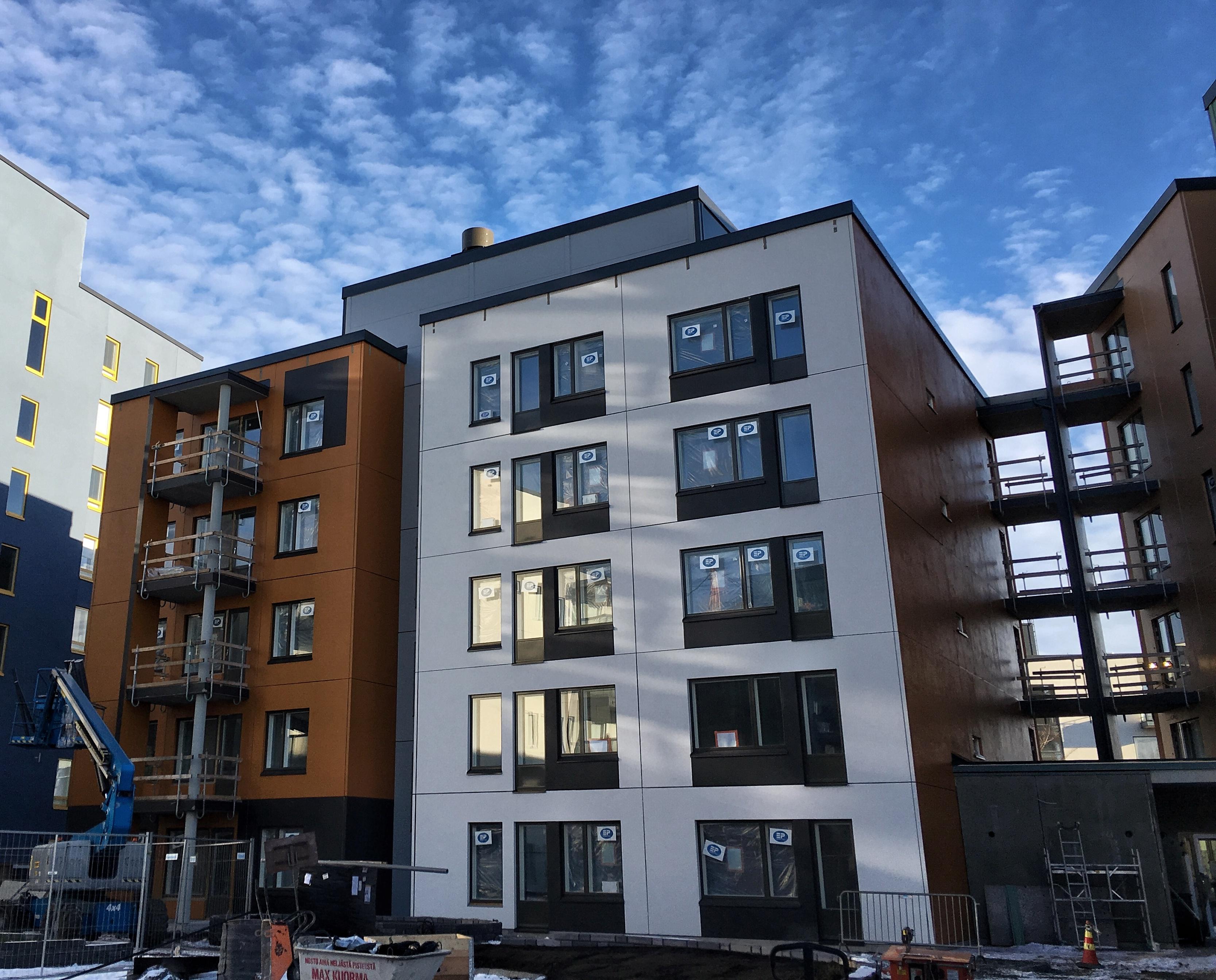 Tampereen Härmälänrantaan valmistuu upean urbaaneja Avara-asuntoja