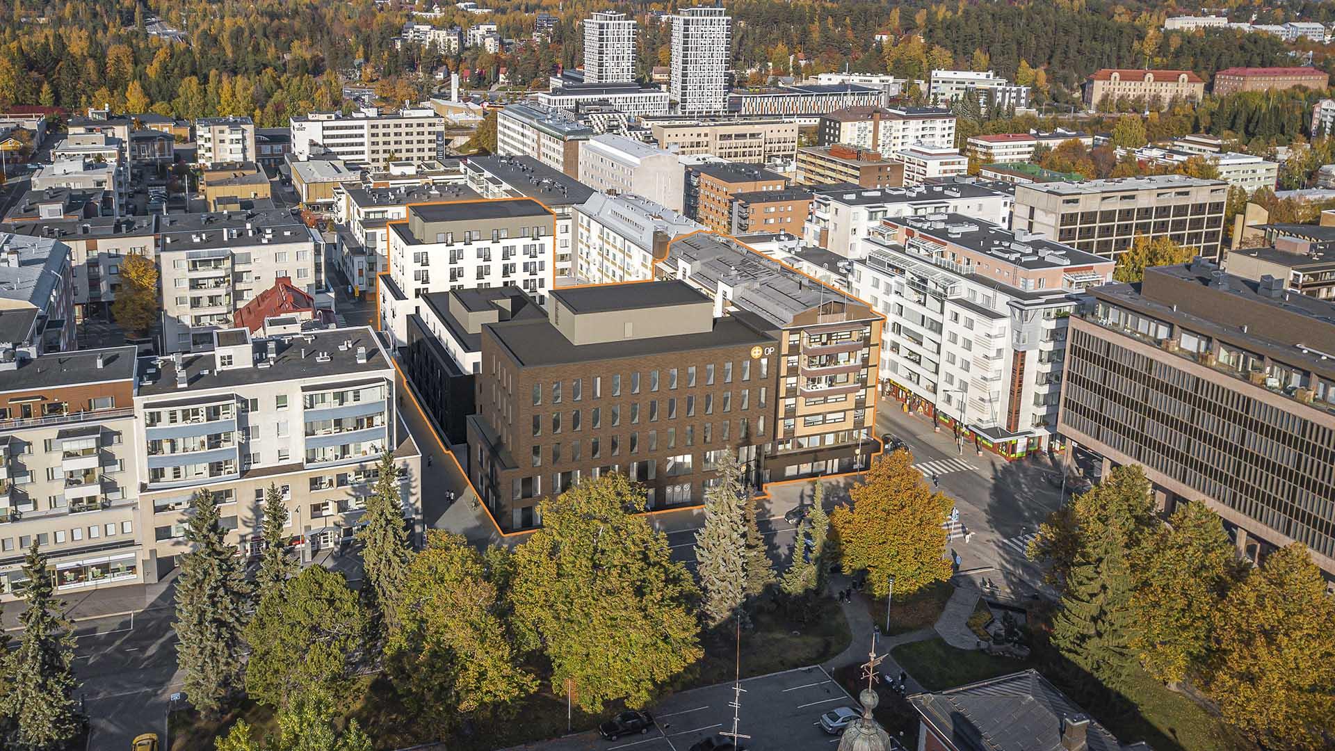 Avara rakennuttaa Kuopion keskustaan sata uutta vuokra-asuntoa